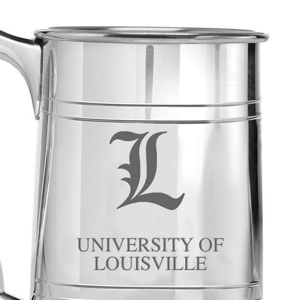 University of Louisville Pewter Stein - Image 2