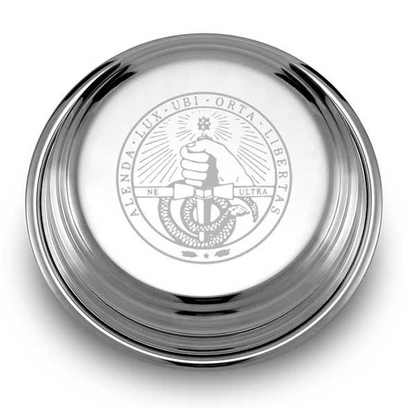 Davidson College Pewter Paperweight - Image 2