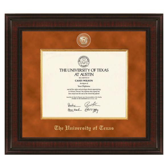 Texas Excelsior Diploma Frame