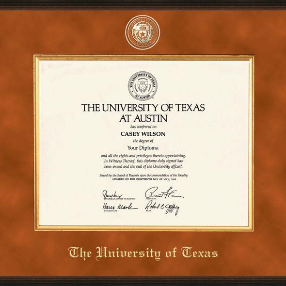 Texas Excelsior Diploma Frame - Image 2