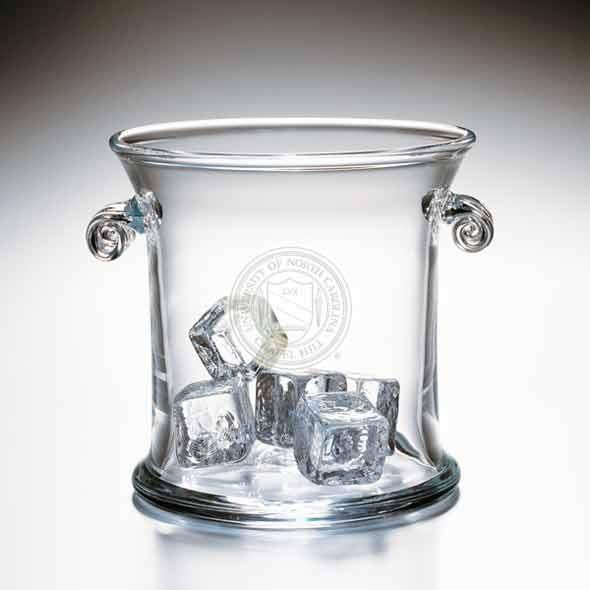 UNC Glass Ice Bucket by Simon Pearce - Image 2