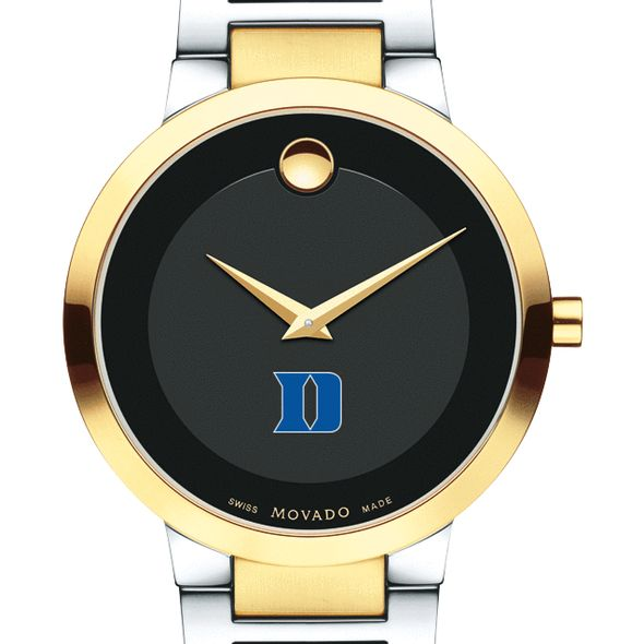 Duke University Men's Movado Two-Tone Modern Classic Museum with Bracelet - Image 1