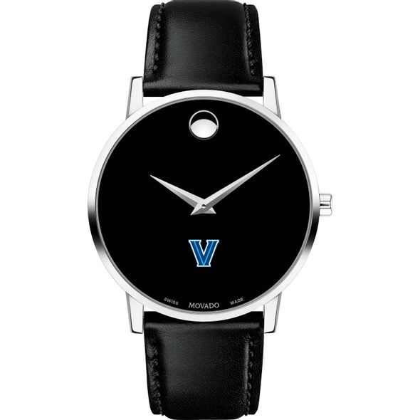 Villanova University Men's Movado Museum with Leather Strap - Image 2