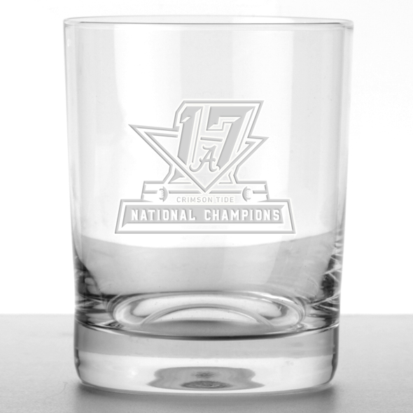 Alabama Crimson Tide 2017 National Championship Tumbler Glasses - Set of 2 - Image 2