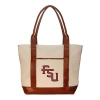 Florida State Needlepoint Tote