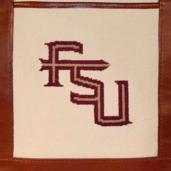 Florida State Needlepoint Tote - Image 3