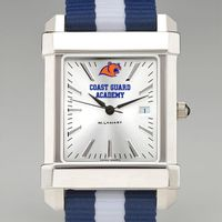 US Coast Guard Academy Collegiate Watch with NATO Strap for Men