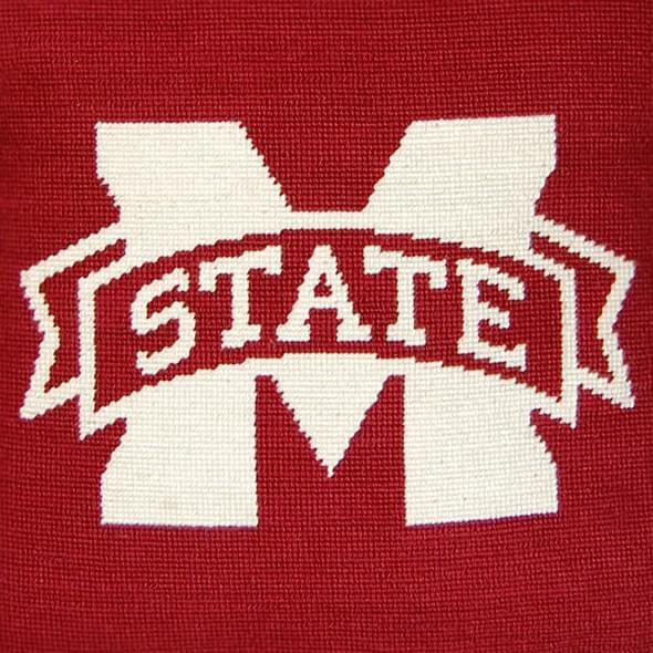 Mississippi State Handstitched Pillow - Image 2