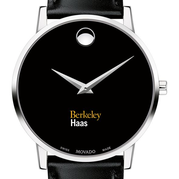 Berkeley Haas Men's Movado Museum with Leather Strap