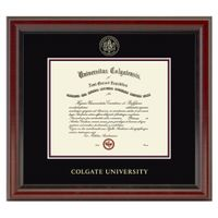 Colgate University Diploma Frame, the Fidelitas