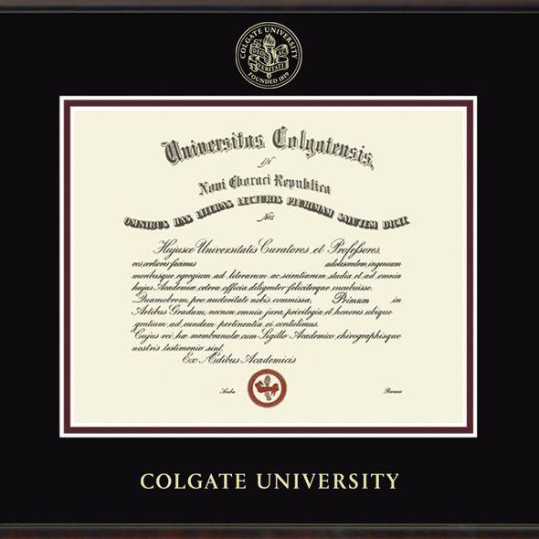 Colgate University Diploma Frame, the Fidelitas - Image 2