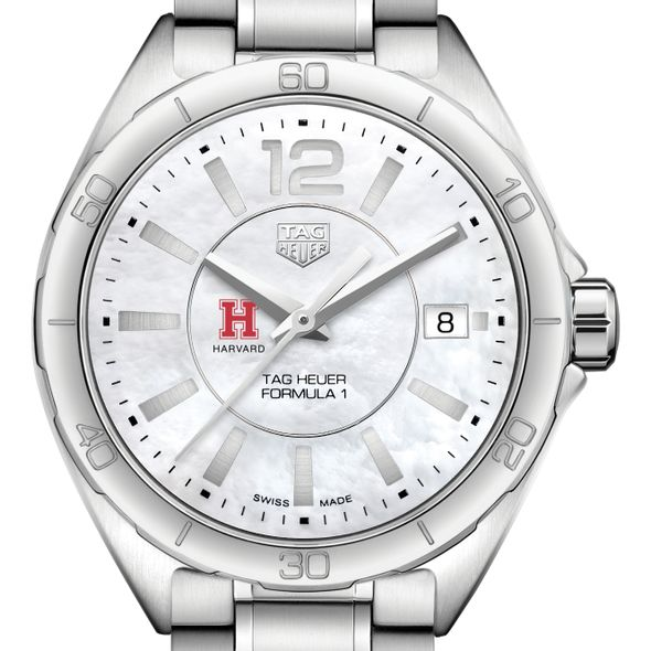 Harvard University Women's TAG Heuer Formula 1 with MOP Dial