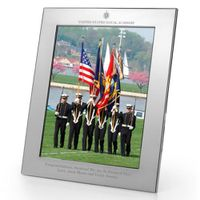 Naval Academy Polished Pewter 8x10 Picture Frame
