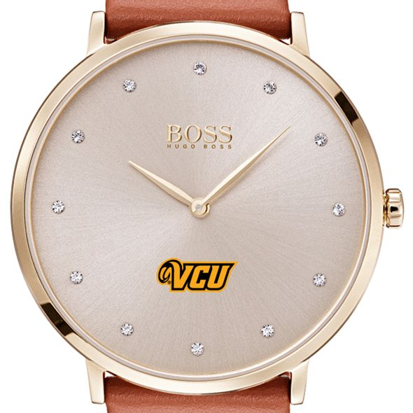 Virginia Commonwealth University Women's BOSS Champagne with Leather from M.LaHart