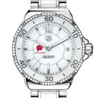Wisconsin Women's TAG Heuer Formula 1 Ceramic Diamond Watch