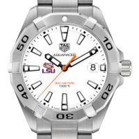 LSU Men's TAG Heuer Steel Aquaracer