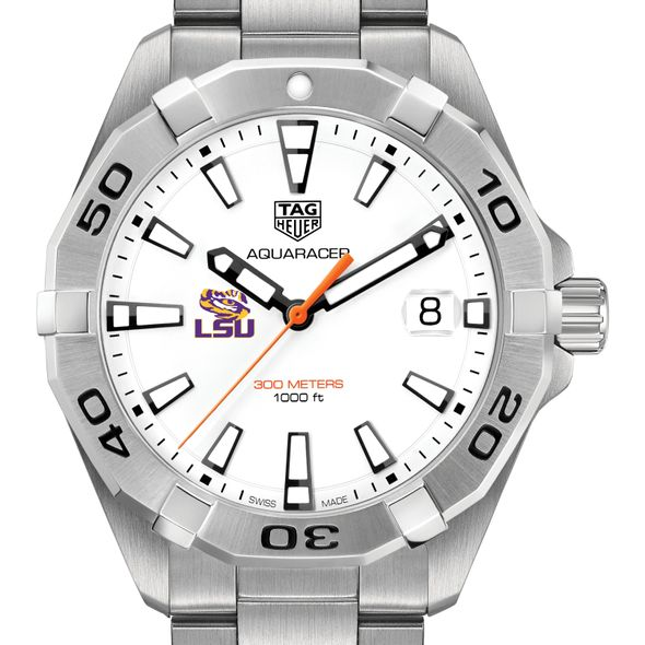 Louisiana State University Men's TAG Heuer Steel Aquaracer