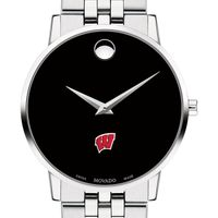 University of Wisconsin Men's Movado Museum with Bracelet