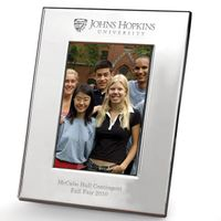 Johns Hopkins Polished Pewter 4x6 Picture Frame