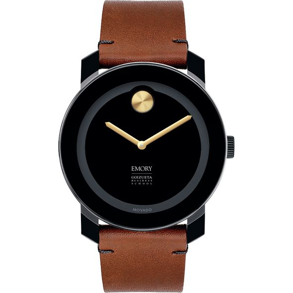 Emory Goizueta Men's Movado BOLD with Brown Leather Strap - Image 2