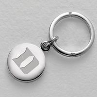Duke Sterling Silver Insignia Key Ring