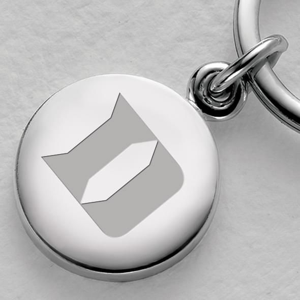 Duke Sterling Silver Insignia Key Ring - Image 2