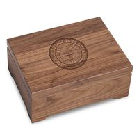 Auburn University Solid Walnut Desk Box