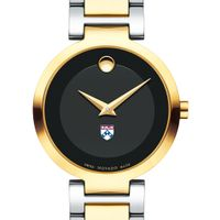 University of Pennsylvania Women's Movado Two-Tone Modern Classic Museum with Bracelet