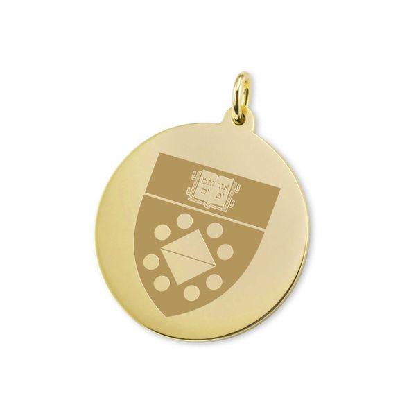 Yale SOM 18K Gold Charm - Image 1