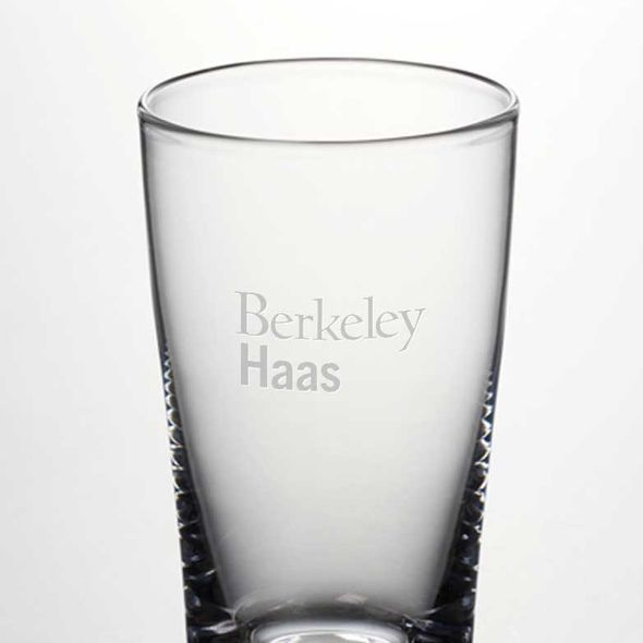 Berkeley Haas Ascutney Pint Glass by Simon Pearce - Image 2