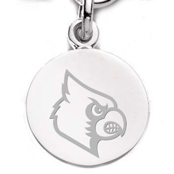 University of Louisville Sterling Silver Charm - Image 1