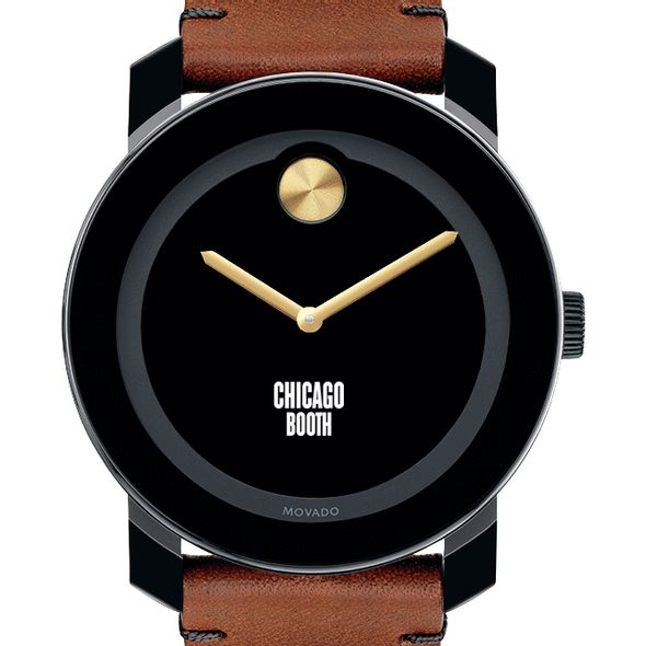 Chicago Booth Men's Movado BOLD with Brown Leather Strap