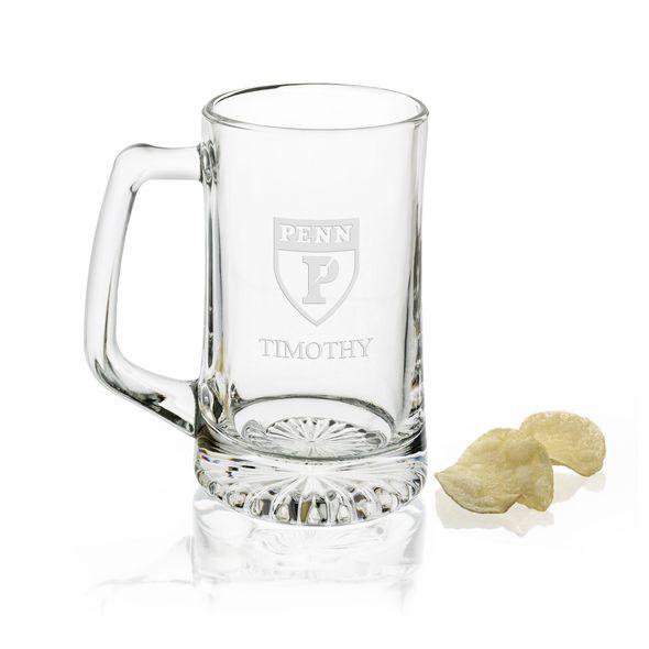 Penn 25 oz Glass Stein