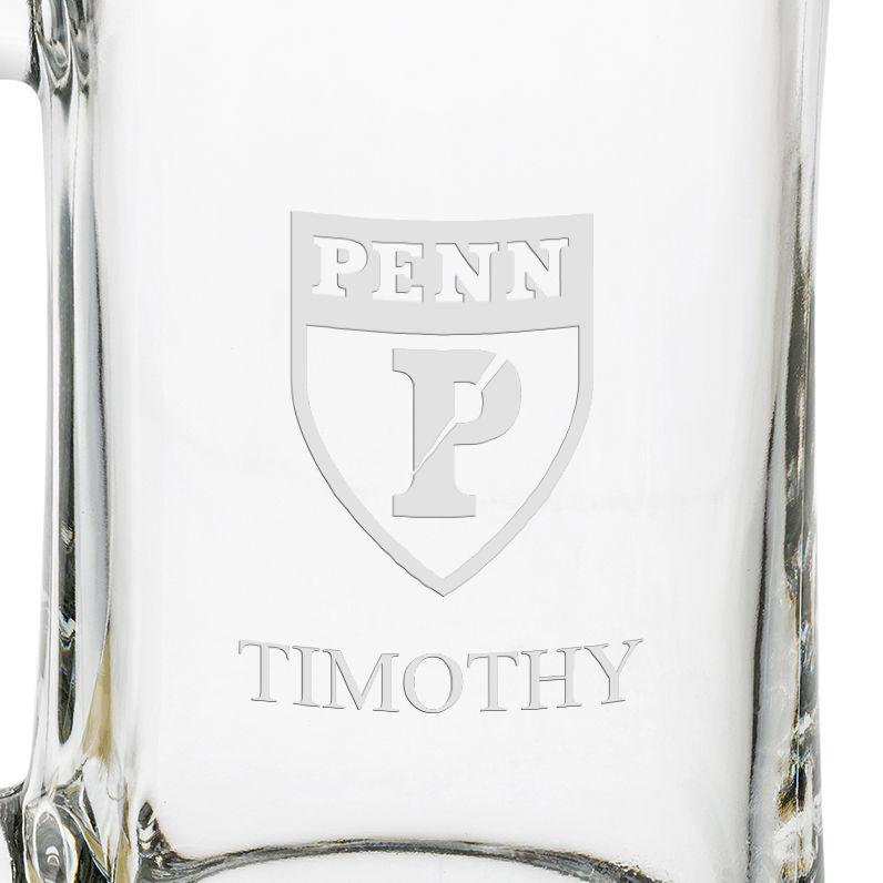 Penn 25 oz Glass Stein - Image 3