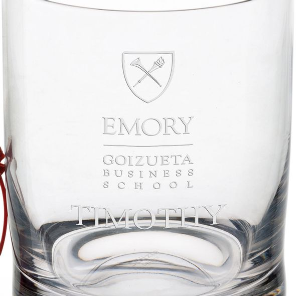 Emory Goizueta Tumbler Glasses - Set of 2 - Image 3