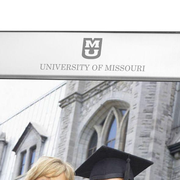 University of Missouri Polished Pewter 8x10 Picture Frame - Image 2