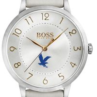 Embry-Riddle Women's BOSS White Leather from M.LaHart
