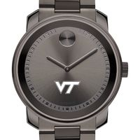 Virginia Tech Men's Movado BOLD Gunmetal Grey
