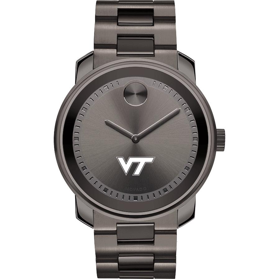 Virginia Tech Men's Movado BOLD Gunmetal Grey - Image 2