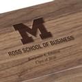 Michigan Ross Solid Walnut Desk Box - Image 3
