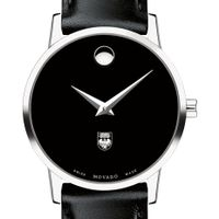 University of Chicago Women's Movado Museum with Leather Strap