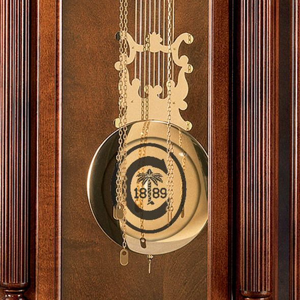 Clemson Howard Miller Grandfather Clock - Image 2