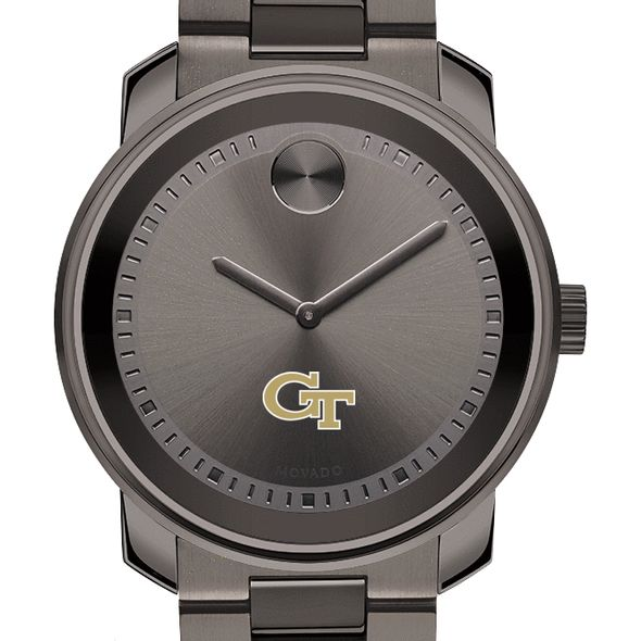 Georgia Tech Men's Movado BOLD Gunmetal Grey