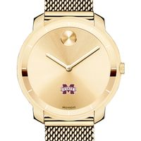 Mississippi State Women's Movado Gold Bold 36