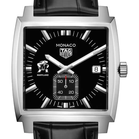 University of Maryland TAG Heuer Monaco with Quartz Movement for Men