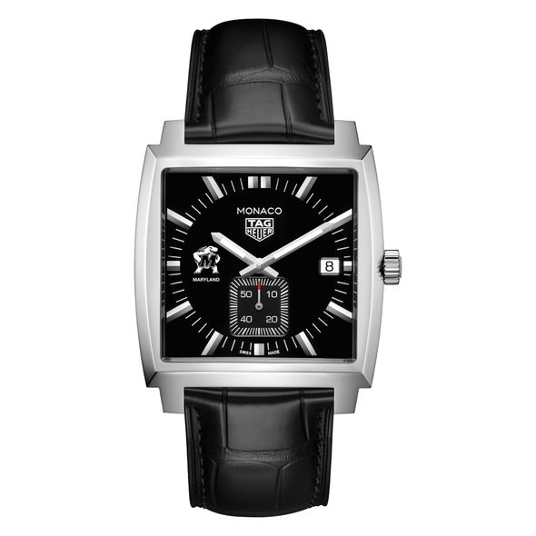 University of Maryland TAG Heuer Monaco with Quartz Movement for Men - Image 2