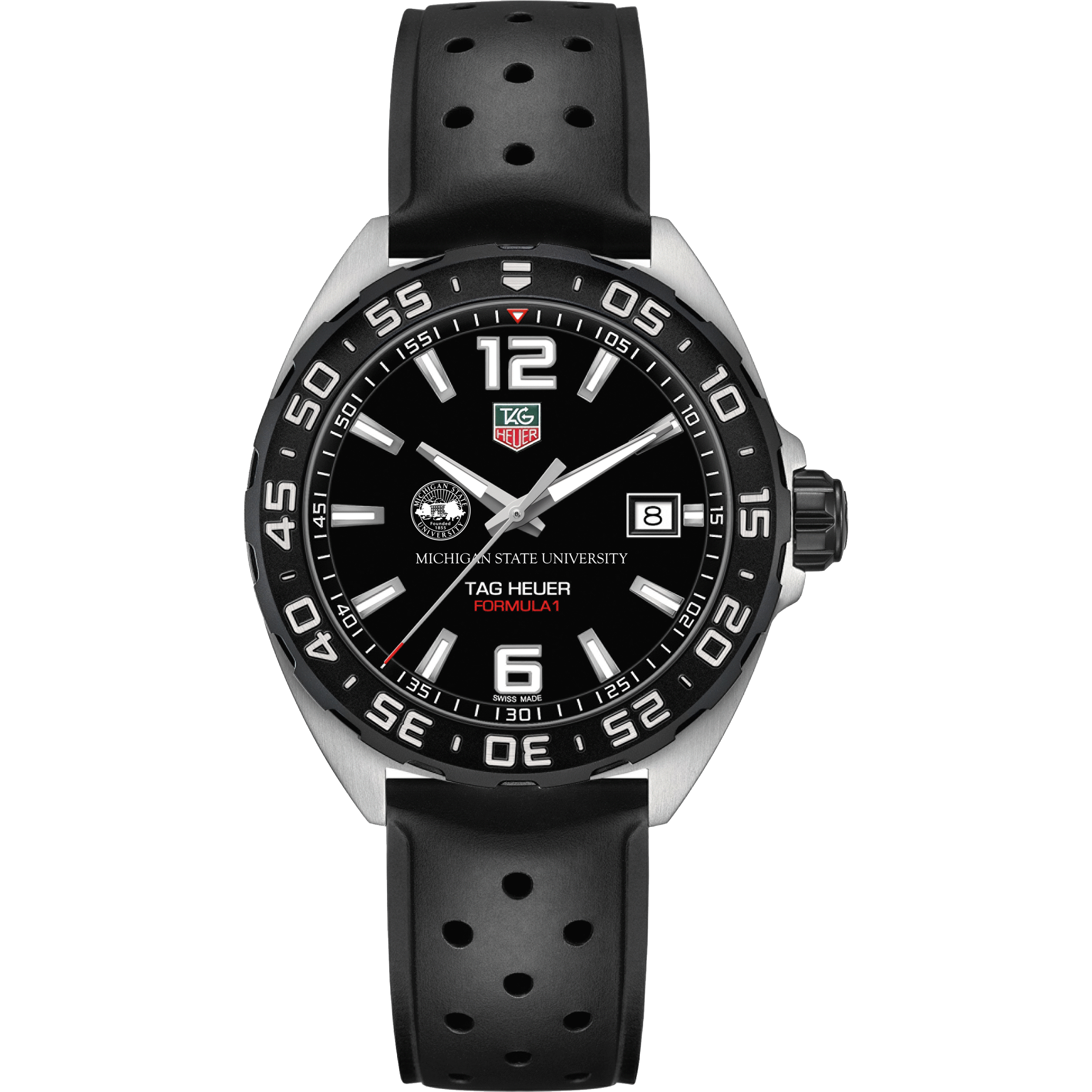 Michigan State Men's TAG Heuer Formula 1 with Black Dial - Image 2