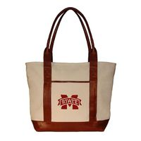 Mississippi State Needlepoint Tote