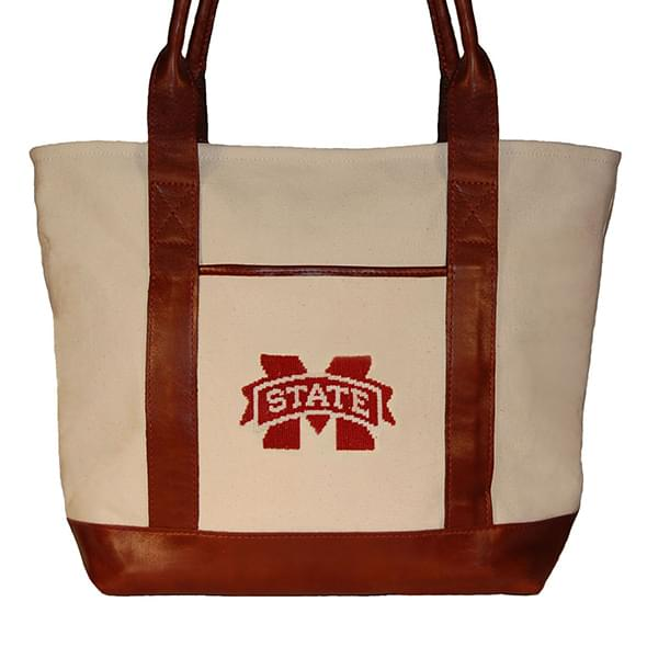 Mississippi State Needlepoint Tote - Image 2