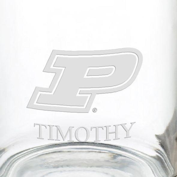 Purdue University 13 oz Glass Coffee Mug - Image 3